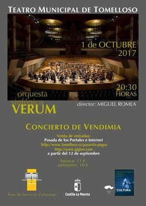 Concierto Vendimia Verum